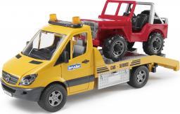 Bruder MB Sprinter pomoc drogowa + Jeep i sygnalizacja (02535)