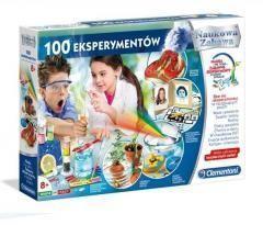 Clementoni Zestaw Kreatywny 100 Eksperymentów  (50522 CLM)