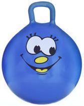 Spokey Piłka skacząca Smiling Face niebieska r. 45 cm
