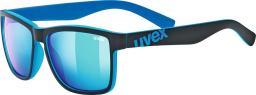 UVEX okulary lgl 39 black mat blue (5320122416)