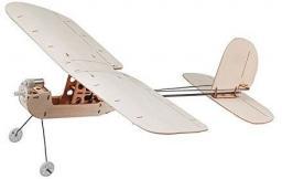 DWhobby Micro KEPLAR z silnikiem i śmigłami, balsa (DW/EBK1-02)