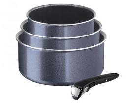 Tefal Zestaw garnków Ingenio Elegance 3 elementy (L2319302)