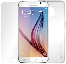 4smarts 360° Zestaw Ochronny Szkło + Etui Samsung Galaxy S6 clear (4S492848)