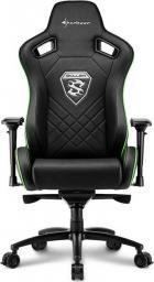 Fotel Sharkoon Skiller SGS4 Gaming seat czarno-zielony