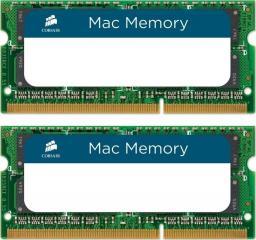 Pamięć do laptopa Corsair SODIMM, DDR3, 8 GB, 1066 MHz, CL7 (CMSA8GX3M2A1066C7)