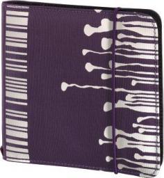 Hama CD Wallet Slim 24 CD Fiolet Gumka (95667)