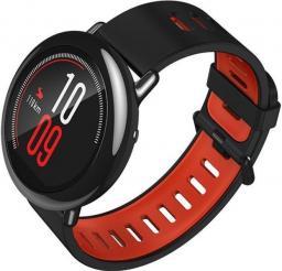 Smartwatch Xiaomi Amazfit Pace Czarno-czerwony  (UYG4013RT)
