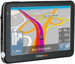 Nawigacja GPS SmartGPS NAWIGACJA Z KAMERA COFANIA SMART SG750 CAM EU LTM