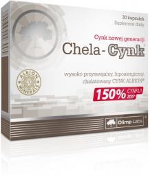 OLIMP Chela-Cynk 30 kaps blistry