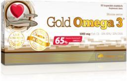 OLIMP Gold Omega 3 60 kapsułek (65%)/1000 mg blistry