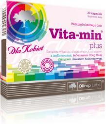 OLIMP Vita-Min plus dla kobiet (kwas hialuronowy) 30 kapsułek blistry