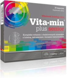 OLIMP Vita-min plus senior 30 kapsułek blistry