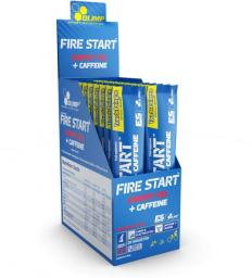 Olimp Fire Start Energy Gel+Caffeine 36g czarna porzeczka stick PL TDP Edition