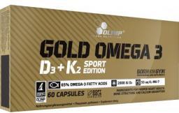 Olimp Gold Omega 3 D3+K2 Sport Edition 60 kaps