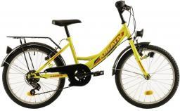 """Kreativ Rower dziecięcy 2014 20"""" żółty (2182014240)"""