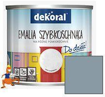 Dekoral Emalia szybkoschnąca do dzieła! Akrylux plus dobry materiał mat 0.5l - 399535