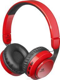 Słuchawki z mikrofonem Redragon SKY Gaming Bluetooth czerwone (64211)
