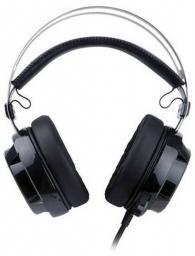 Słuchawki z mikrofonem Redragon SIREN Gaming czarno-czerwone (74772)