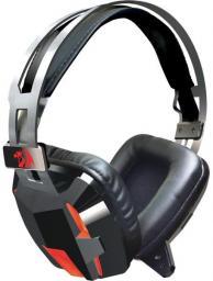 Słuchawki z mikrofonem Redragon LAGOPASMUTUS Gaming czarno-czerwone (74706)