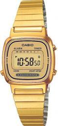 Zegarek Casio Zegarek damski Retro złoty (LA670WEGA-9EF)