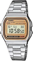 Zegarek Casio Zegarek męski Retro srebrny (A158WEA-9EF)