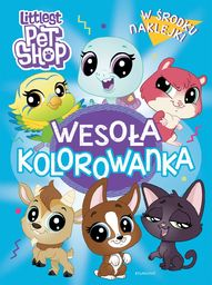 Littlest Pet Shop Wesoła Kolorowanka Z Naklejkami (30632069)