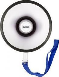 Mikrofon Sweex Wbudowany mikrofon megafonowy Biały / Niebieski - SWMEGA10