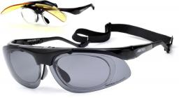 Arctica Okulary sportowe czarne (S-70)
