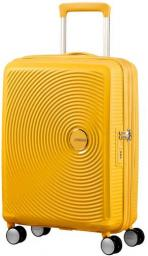 Torba Samsonite Spinner AT 32G06001 SOUNDBOX-55/20 TSA,EXP bagaż, 4 kółka, żółta/złota (32G-06-001)