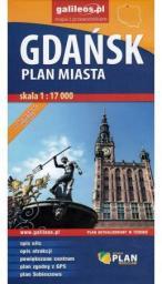 Plan miasta - Gdańsk 1:17 000