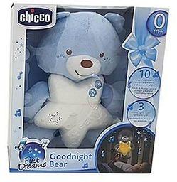 Chicco Miś na dobranoc niebieski (276697)