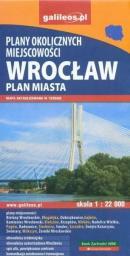 Plan miasta - Wrocław i okolice 1:22 000