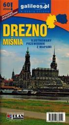 Przewodnik ilustrowany z mapami - Drezno. Miśnia