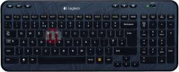 Klawiatura Logitech K360 Bezprzewodowa Czarna UK (920003094)