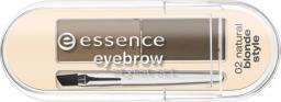 Essence Zestaw do stylizacji brwi Set Eyebrown Stylist Brunette Style 02 Blonde