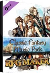 Program Degica RPG Maker: Classic Fantasy Music Pack Key Steam GLOBAL