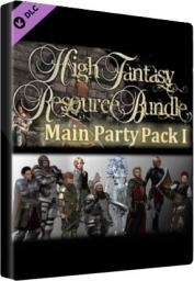 Program Degica RPG Maker: High Fantasy Main Party Pack 1 Key Steam GLOBAL