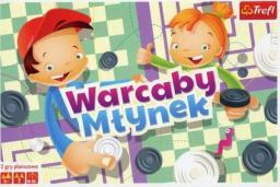 Trefl Warcaby/Młynek ilustrowane (01622)