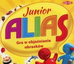 Tactic Gra planszowa Alias Junior (53183 TACTIC)