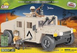 Cobi  Pojazd NATO AAT Vehicle Desert Sand (24303)