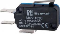 Spamel Łącznik miniaturowy dźwignia plaska krótka (MSV102C)