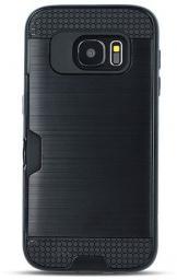 TelForceOne Nakładka Defender Card do Samsung Galaxy A8 2018 czarna (GSM034308)