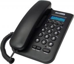 Telefon przewodowy Maxcom KXT 100 Czarny