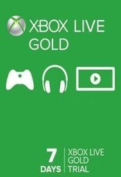 Microsoft Xbox Live Gold Trial Code XBOX LIVE 7 Days GLOBAL