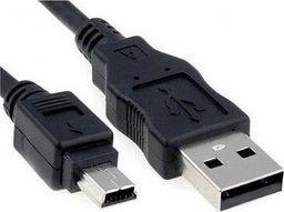 Kabel USB Akyga A/MINI-B 5-PIN 1.8M (AK-USB-03)