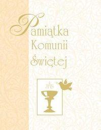 Olesiejuk Pamiątka Komunii Świętej (żółta, mały format) - 277358