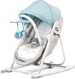 KinderKraft Leżaczek 5w1 Unimo szaro-błękitny (KKBUNIMLIBL000)