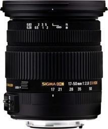 Obiektyw Sigma EX DC OS HSM 17-50 mm (583955)