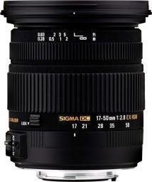 Obiektyw Sigma EX DC OS HSM 17-50 mm (583956)