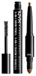 NYX 3w1 Brow Pencil 31B06 Brunette